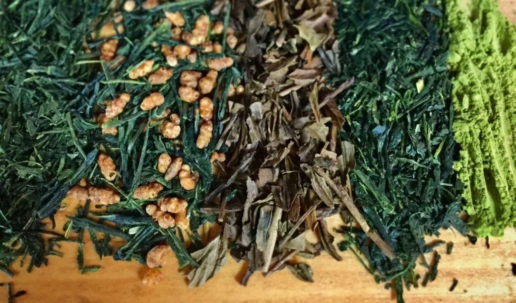 green tea leaves loose leaf matcha sencha japanese