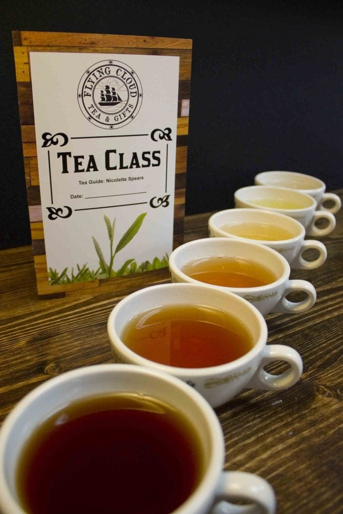 Tea Class at Flying Cloud