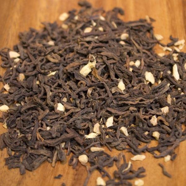 Ginger Puerh Loose Leaf Puerh Tea