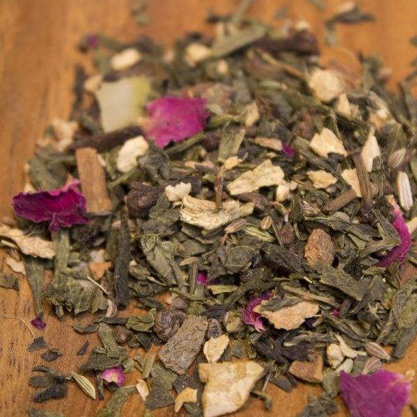 Green Chai Loose Leaf Green Tea