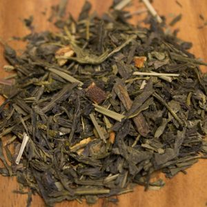 Lemon Sencha Green Loose Leaf Tea