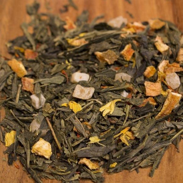 Pineapple Kiss Loose Leaf Green Tea