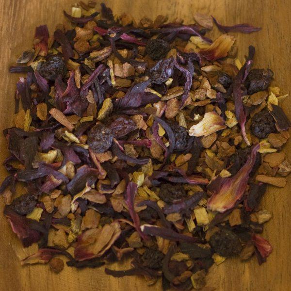 Cinnamon Plum herbal tea