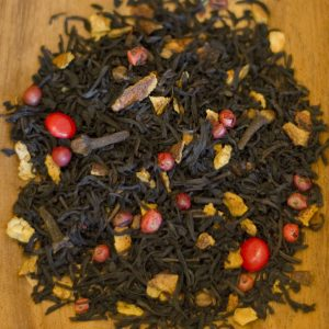 Hot Cinnamon loose leaf black tea