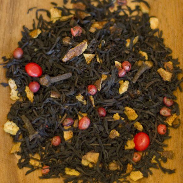 Hot Cinnamon loose leaf black tea