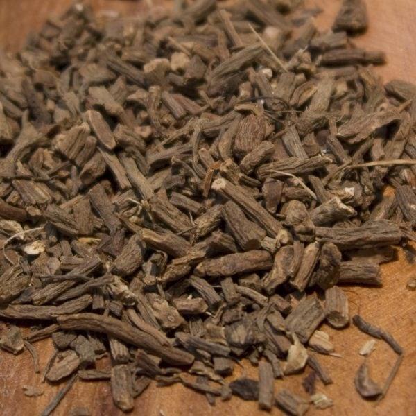 Valerian root herbal tea