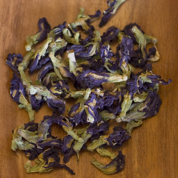 Butterfly Pea blossoms loose leaf